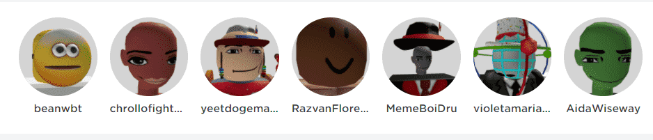 roblox cursed avatars