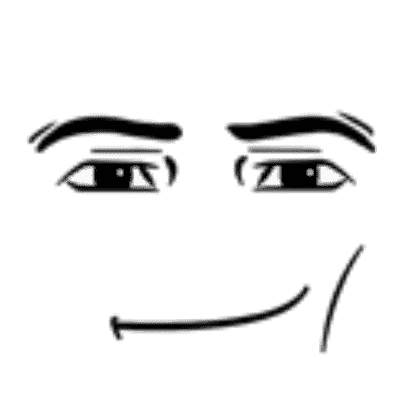 roblox man face