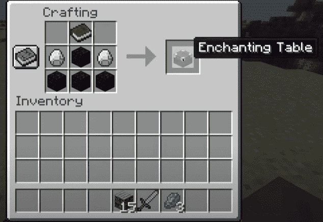 Crafting enchantment respiration minecraft