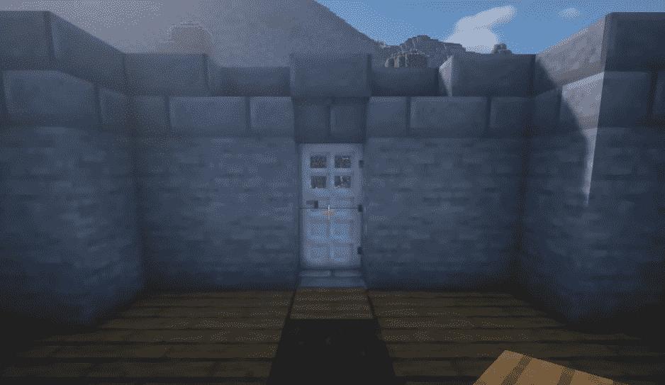 door of lighthouse
