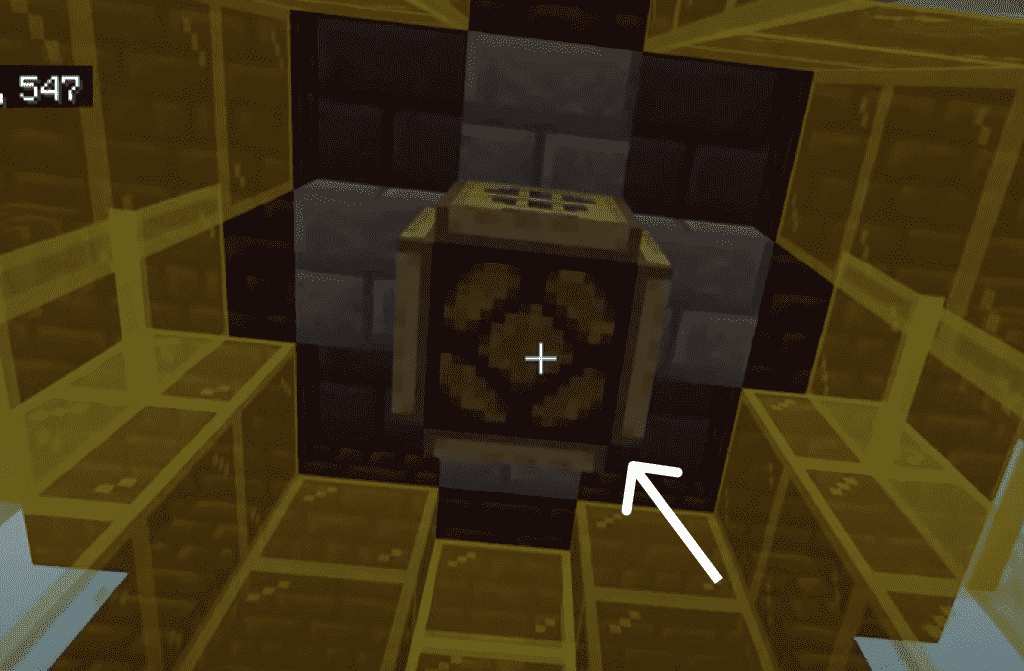 redtone lamp as light in lighthouse minecraft