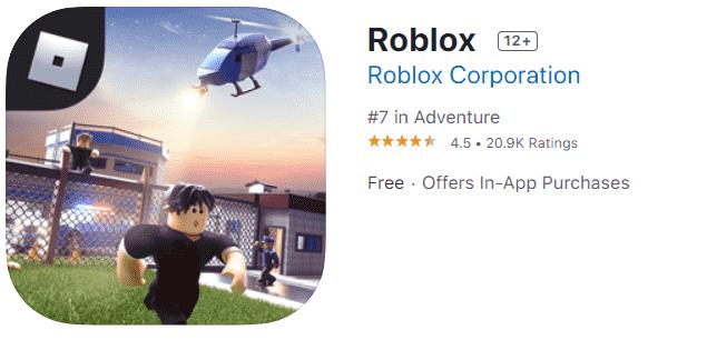 roblox app store ios