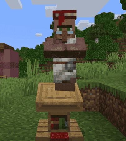 villager trading minecraft