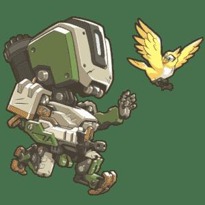 Bastion Overwatch Cute Sprays