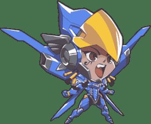 Pharah Overwatch Cute Sprays