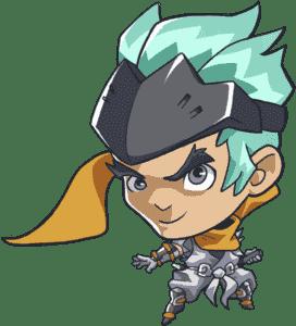 Genji Overwatch Cute Sprays