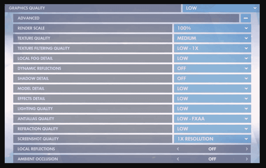 Overwatch best graphics settings