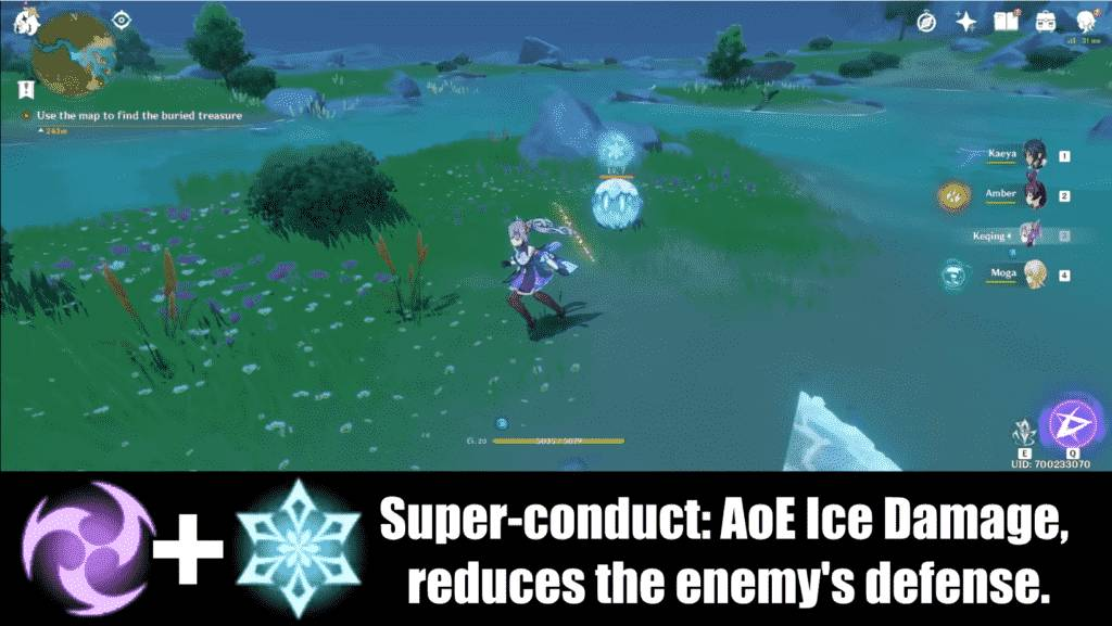 Genshin Impact Element Effects
