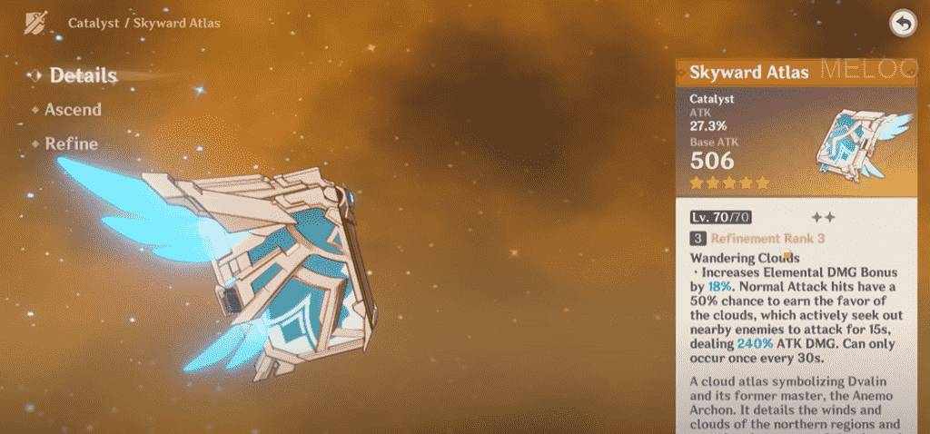 Genshin Impact Weapon Catalysts
