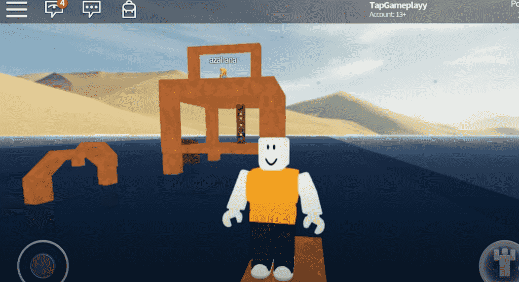 Roblox on mobile
