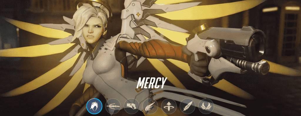 Mercy in Overwatch