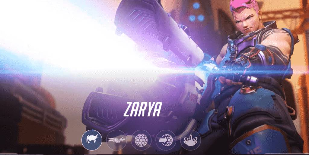 Zarya overwatch