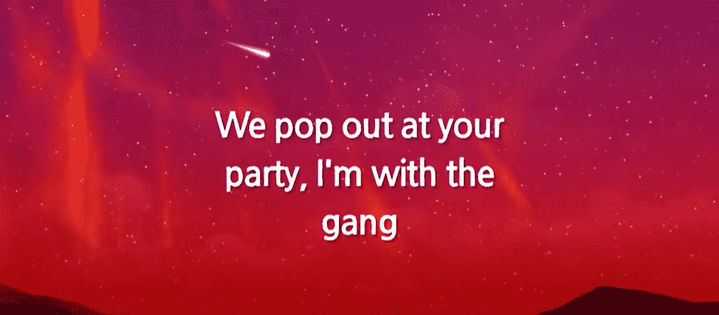 Pop Out song 1