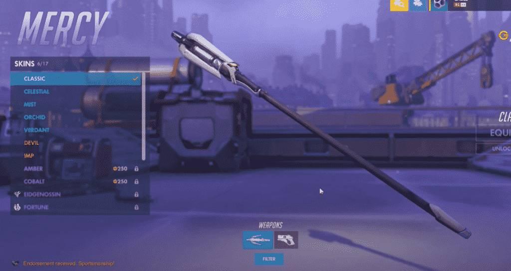 classic mercy weapon