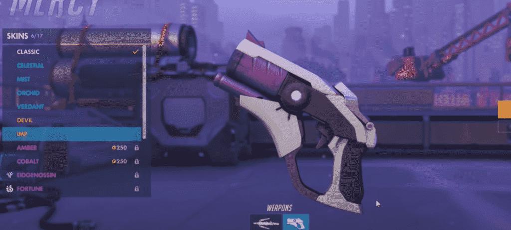 imp mercy weapon