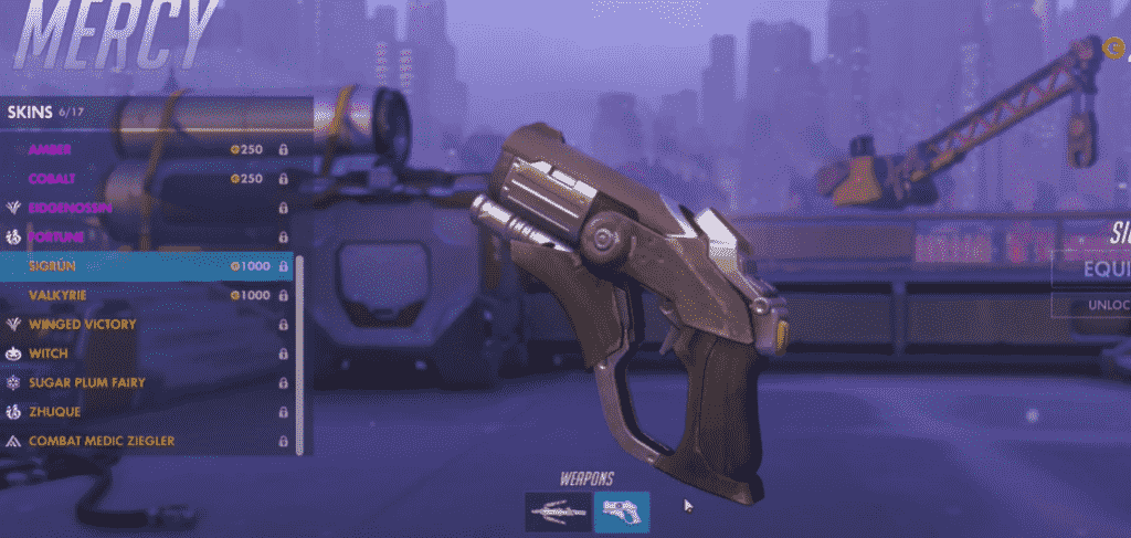 sigrun mercy weapon