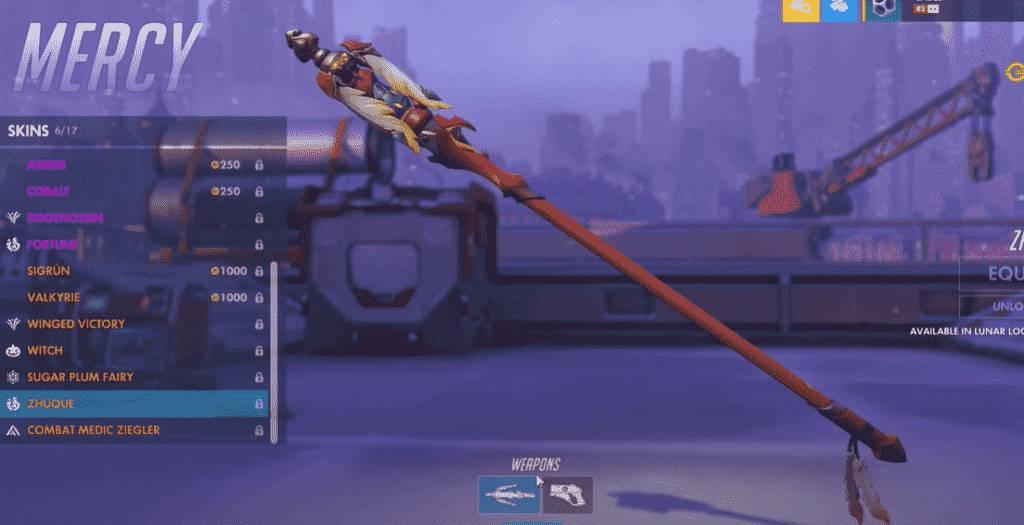 zhuque mercy weapon