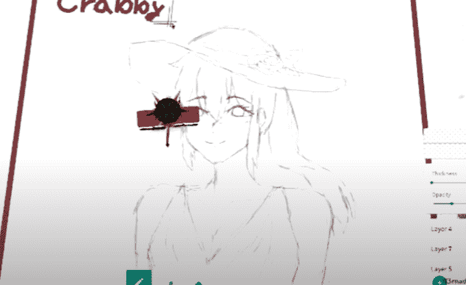 Free Draw Anime Girl