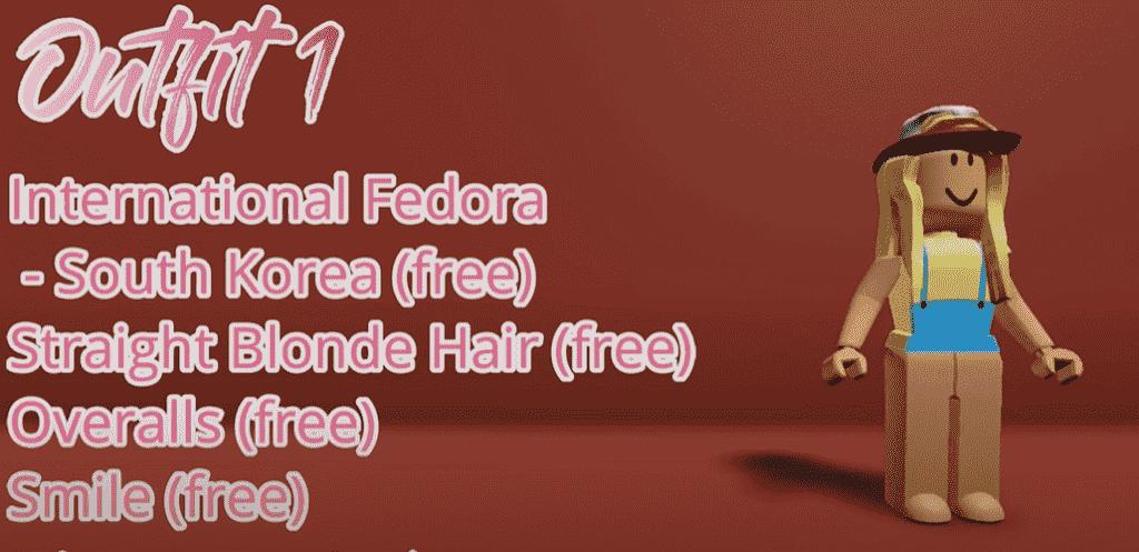 Free Roblox Girl 1