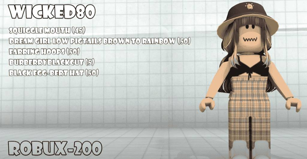 Best Roblox Girl Outfit 4