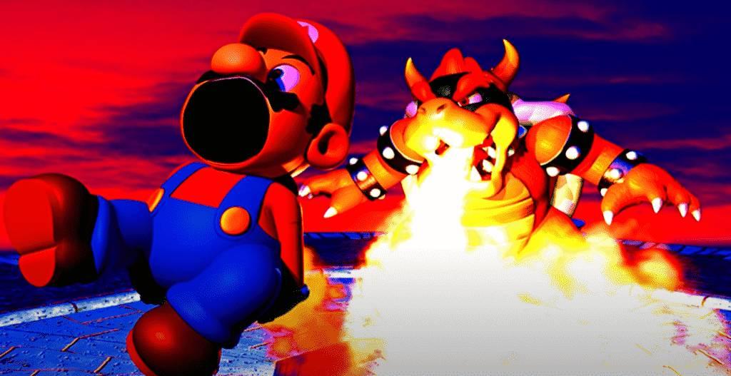 Mario screaming Roblox ID