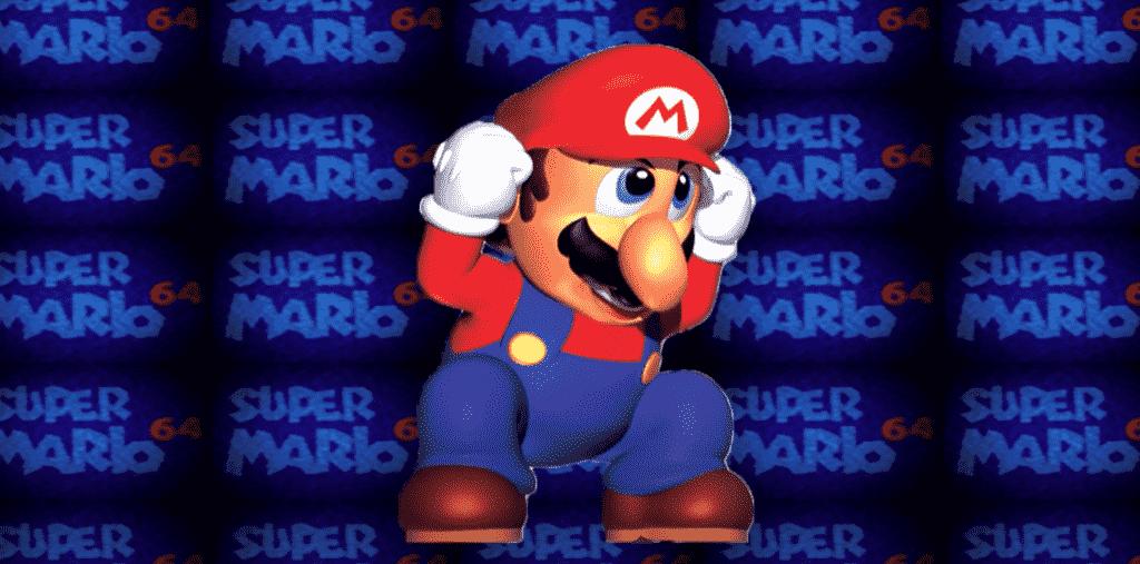 Mario screaming 5