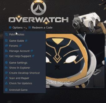 overwatch options