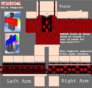 Roblox shirt template 10