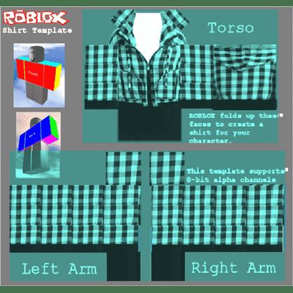 Roblox shirt template 12