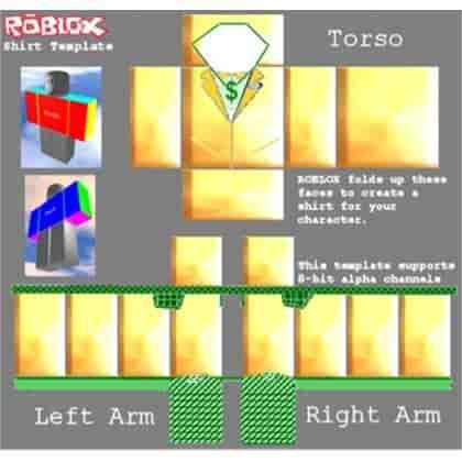 Roblox shirt template 22