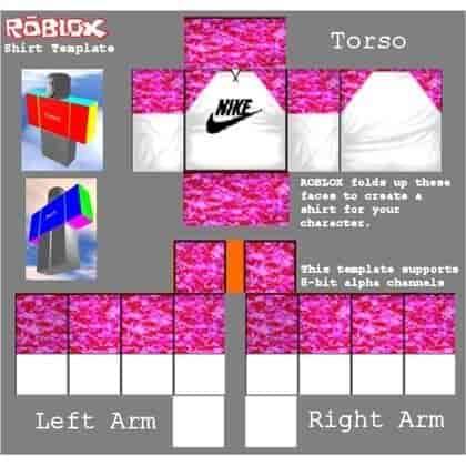 Roblox shirt template 24