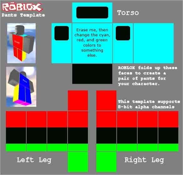 Roblox shirt template 28