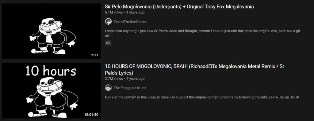 Mogolovonio In Youtube